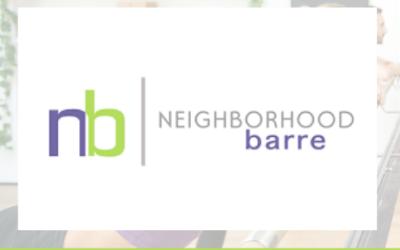 Five Question Friday: Neighborhood Barre